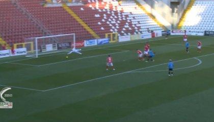 Martignago salva il Ravenna a Fano (1-1)