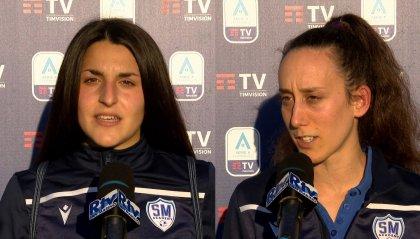 """Serena Landa: """"Felice per il gol, questa è la strada giusta"""", Ilenia Rossi: """"Esordio indimenticabile"""""""