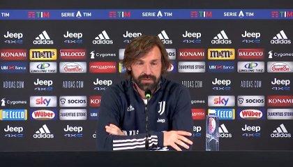 """Andrea Pirlo: """"Partita difficile, ma contro lo Spezia dobbiamo vincere"""""""