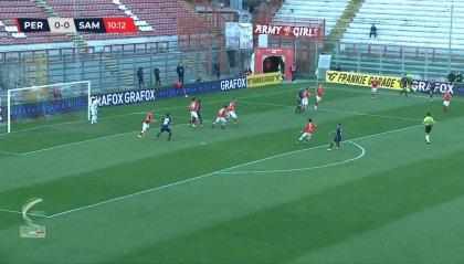 Rallenta il Perugia, 1-1 con la Sambenedettese