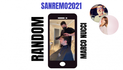 Marco Nucci, hair stylist di Random a Sanremo: i commenti sulla prima serata