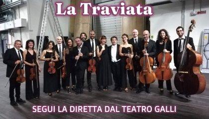 La Traviata - Segui la diretta dal Teatro Galli dalle 20.00