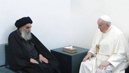 Iraq: il Papa ha incontrato l'Ayatollah Al-Sistani