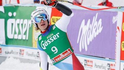 Super G: Odermatt trionfa a Saalbach, male gli italiani