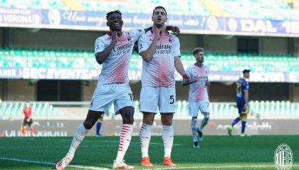 Bene Milan e Roma, stasera Inter-Atalanta