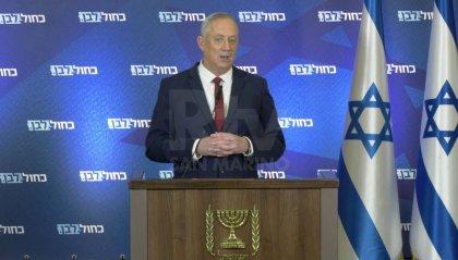 """Israele: Gantz dichiara """"Se il mondo riesce a fermare l'Iran va bene, se no lo faremo da soli"""""""