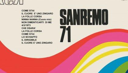 Quell'edizione di Sanremo del 1971