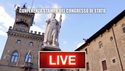 Conferenza stampa del Congresso di Stato - SEGUI LA DIRETTA