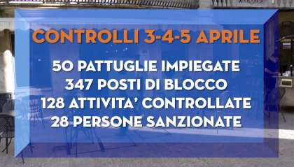 """""""Stretta di Pasqua"""": ad essere sanzionati perlopiù italiani in """"gita fuori porta"""" senza giustificazione"""