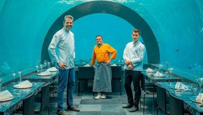 """""""H2O by Chef Andrea Berton"""" il nuovo locale gourmet subacqueo"""