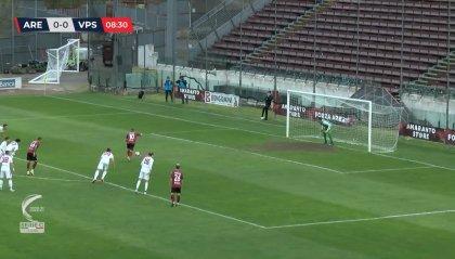Arezzo – Vis Pesaro 4-2, si complica la classifica per i marchigiani