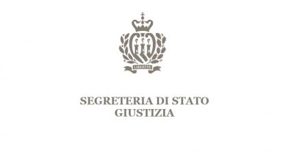 Segreteria Giustizia: soddisfazione per la cessazione dello sciopero da parte dell'Ordine degli Avvocati e Notai