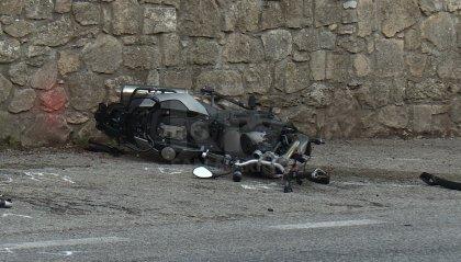 San Marino: scontro fra auto e moto a Murata, motociclista trasportato all'ospedale