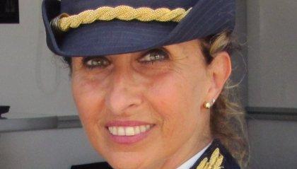 Il saluto del comandante dott.ssa Elena Natale trasferita a Venezia