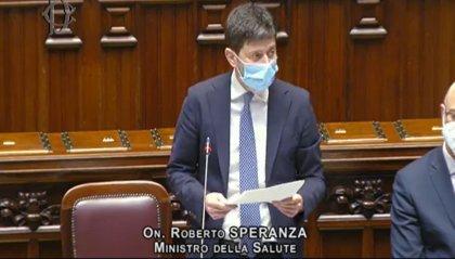 """Il ministro Speranza: """"In arrivo milioni di vaccini, ci sono le basi per una svolta"""""""