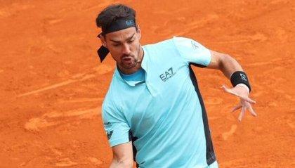 Tennis: a Montecarlo si ferma ai quarti Fognini