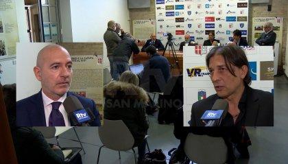 """Rimini, presentati Maniero e Bresciani: """"Torniamo tra i professionisti"""""""