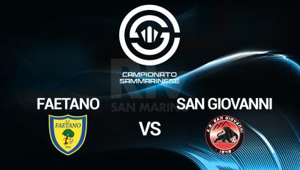 Faetano - San Giovanni (live dalle ore 15.00)