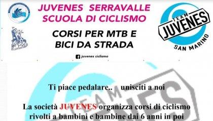 Juvenes: scuola di ciclismo open day alla Casa Laiala di  Serravalle