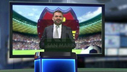 Cpiace ospiti l'attaccante del Modena Stefano Scappini e il DS del Mantova Alessandro Battisti