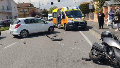 Grave incidente sulla via Emilia: centauro in prognosi riservata al Bufalini