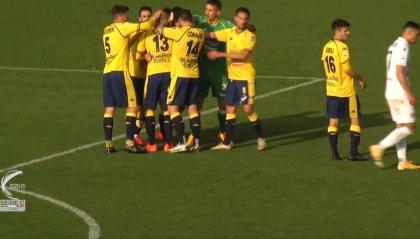 Il Padova crolla 3-0 a Modena e perde la testa
