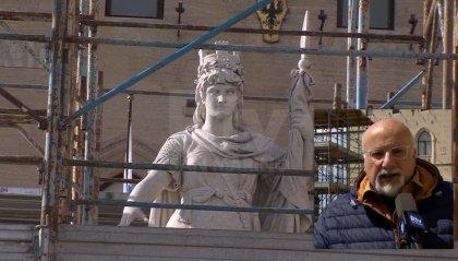 Lavori di pulizia per la Statua della Libertà: ecco la storia di uno dei monumenti più importanti per il Paese
