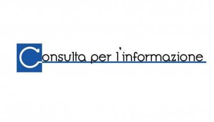 Consulta per l'informazione: Forte preoccupazione per libertà di espressione, diritto di cronaca e di critica