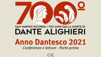 Conferenze, letture, un cineforum e una mostra celebreranno sul Titano Dante Alighieri nell'anno in cui  ricorrono i 700 anni dalla sua morte
