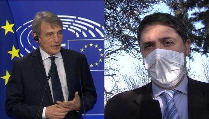 """Sassoli in plenaria: """"Parlamento europeo e Consiglio d'Europa uniti per promuovere diritti umani, sviluppo e pace'"""