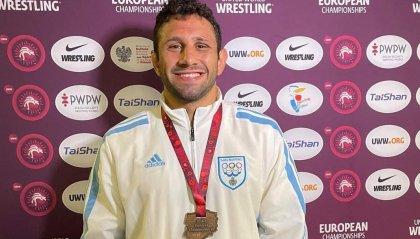 Lotta: Myles Amine Mularoni è bronzo agli Europei