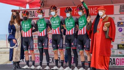 Cultura, sport e divertimento alla partenza del Giro di Romagna