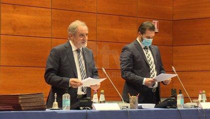 Messaggio all'aula della Reggenza: riconoscenza a chi ha operato in prima linea nella lotta alla pandemia