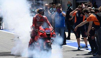 MotoGP Spagna:  doppietta Ducati, vince Miller davanti a Bagnaia