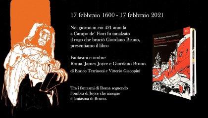 Fantasmi e ombre. Roma, James Joyce e Giordano Bruno
