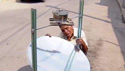 """Nasce la """"estufa solar"""", il fornello per cucinare ad energia solare,  invenzione di un """"abuelito"""", un nonno messicano"""