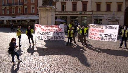 Bando servizio gas: i lavoratori protestano a Rimini