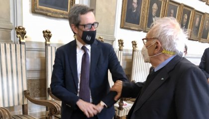 Il Segretario di Stato per l'Istruzione e la Cultura della Repubblica di San Marino Andrea Belluzzi ha incontrato in un clima di rinnovata amicizia il Ministro dell'Istruzione della Repubblica Italiana Patrizio Bianchi