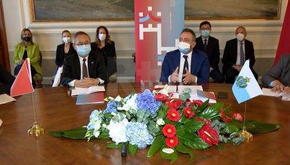 San Marino-Cina: si punta a potenziare la cooperazione in vari settori