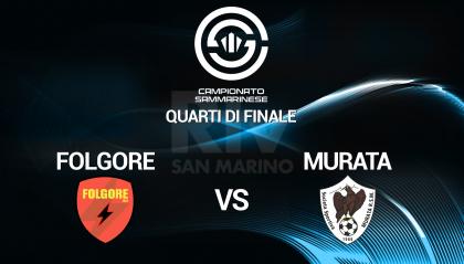 Quarti di finale: Folgore - Murata  LIVE