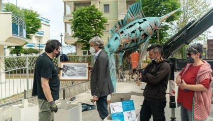 A San Giuliano mare una nuova installazione artistica regalata dal privato alla città. Tra gli autori gli artisti della Mutoid Waste Company