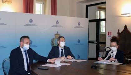 bando di concorso pubblico per due opere d'arte che rappresenteranno San Marino al palazzo delle Nazioni Unite di Ginevra