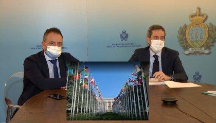 Arte sammarinese all'ONU: bando per due opere nella sede di Ginevra