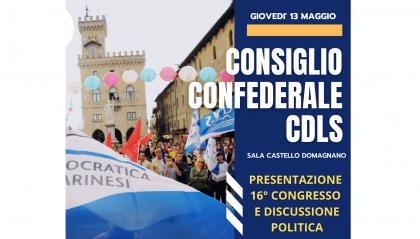CDLS verso il primo congresso Covid free della Repubblica