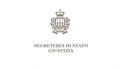 Segreteria Giustizia: Un nuovo bando per il reclutamento di cinque giudici per la responsabilità civile dei magistrati