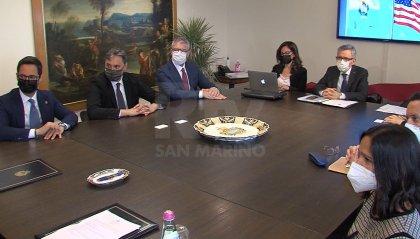 Siglato il protocollo per consolidare le intese commerciali tra San Marino e Stati Uniti