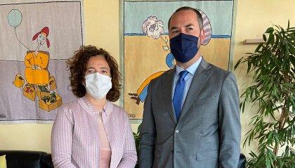 Segreteria Lavoro: Lonfernini visita lo stabilimento di Valpharma