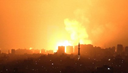 Gaza: 10 morti in bombardamento israeliano; 8 bambini e 2 donne
