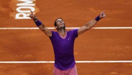 Nadal vince il Master 1000 di Roma