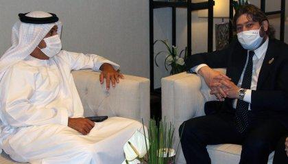 """Pedini Amati incontra la stampa a Dubai: """"orgoglio poter presentare le numerose opportunità che la nostra terra offre"""""""